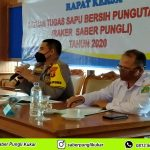 Rapat Koordinasi dan Evaluasi Tim Saber Pungli Kutai Kartanegara tahun 2020